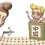 Bent og den kinesiske kasse